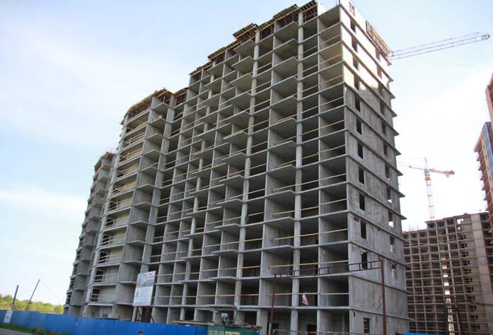 ЖК «Новый Оккервиль»: Вид на секции 1-2 с ул. Областная