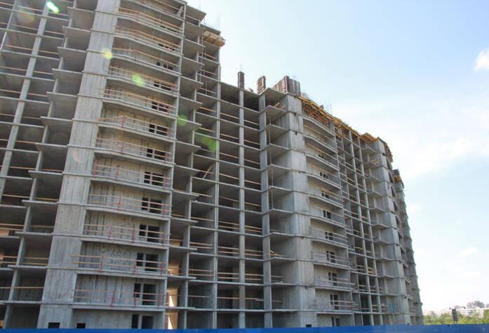 ЖК «Новый Оккервиль»: Вид на секции 7-6 со стороны Областной ул.