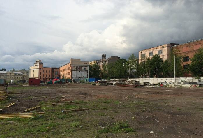 Строительная площадка жилого комплекса «Палаццио»