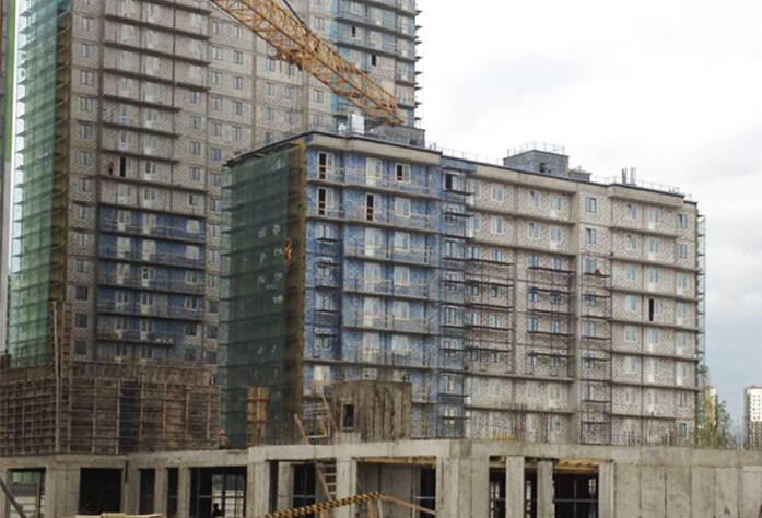 ЖК «Граффити»: ход строительства, дома 1.5-1.6