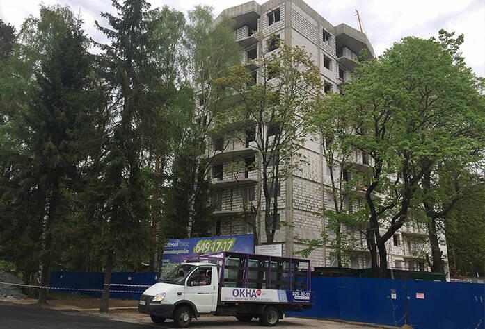 Жилой  комплекс «Зеленый Город»: ход строительства