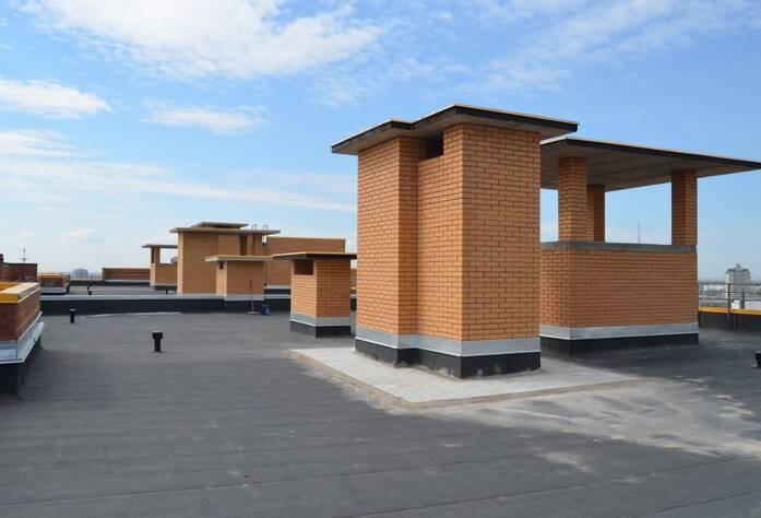 ЖК «Медалист»: крыша