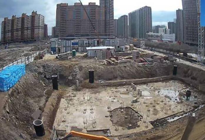 Ход строительства ЖК «Территория»: корпус 2