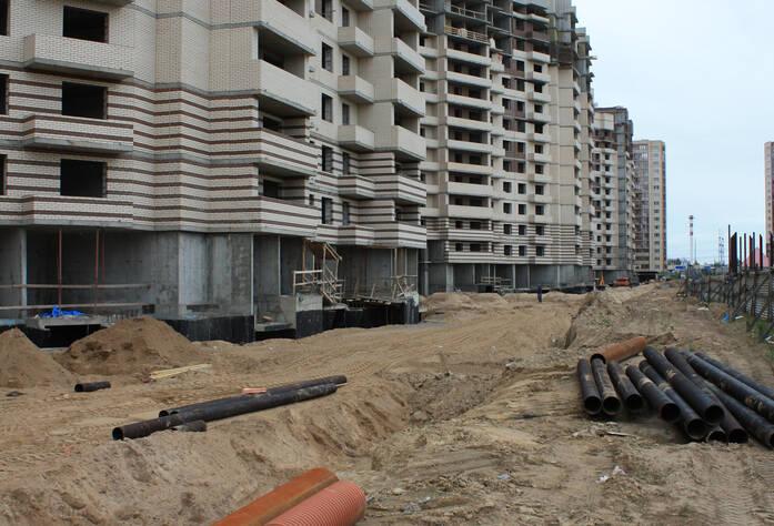 ЖК «Муринский Посад»: ход строительства, корпус 1 этап 3