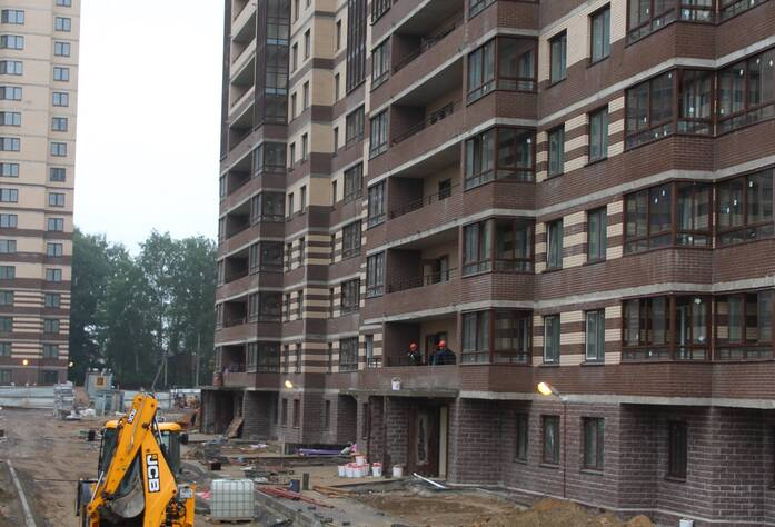 ЖК «Новое Мурино»: ход строительства, корпус 6