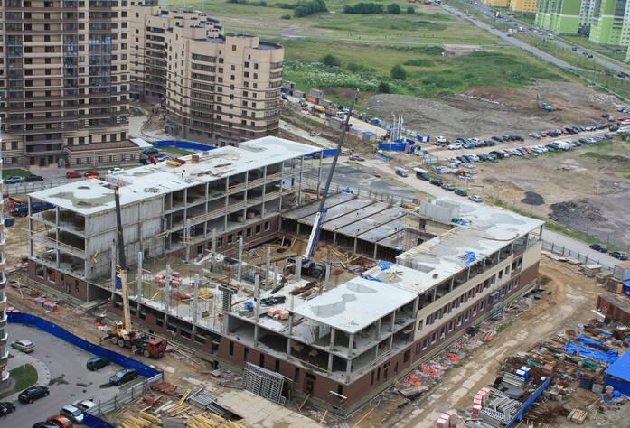ЖК «Новое Мурино»: ход строительства, школа