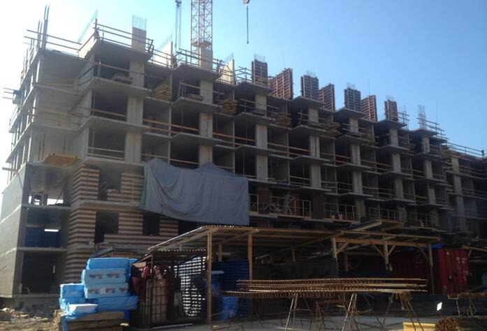 ЖК «Новое Янино»: ход строительства, корпус Г