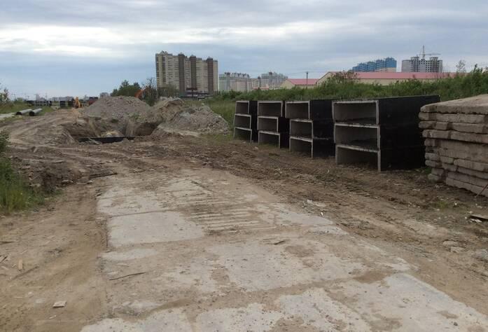 ЖК «Новые Горизонты»: строительная площадка