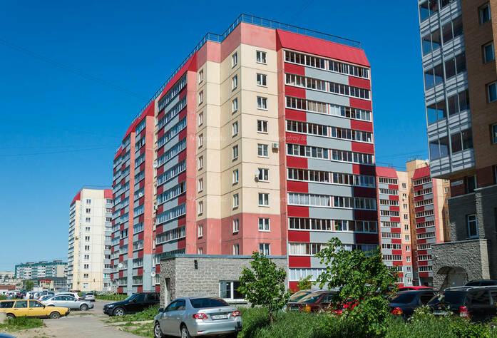 ЖК «в поселке Тельмана (микрорайон № 1)»: общий вид корпуса 11
