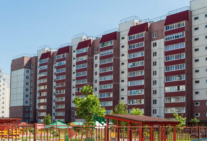 ЖК «в поселке Тельмана (микрорайон № 1)»: общий вид корпуса 7