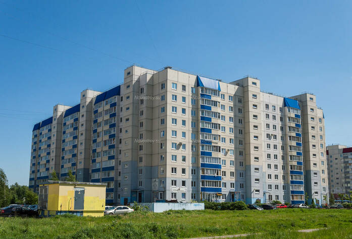 ЖК «в поселке Тельмана (микрорайон № 1)»: общий вид корпуса 3