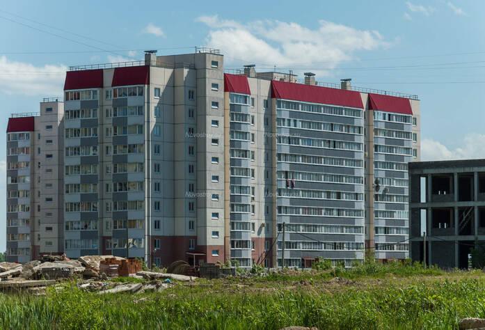 ЖК «в поселке Тельмана (микрорайон № 1)»: общий вид корпуса 5