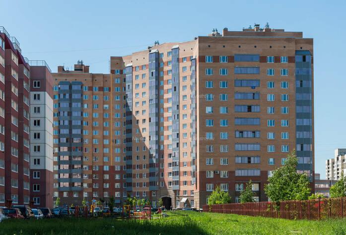 ЖК «в поселке Тельмана (микрорайон № 1)»: общий вид корпуса 9