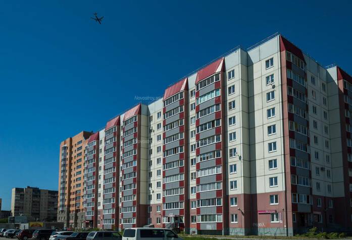 ЖК «в поселке Тельмана (микрорайон № 1)»: общий вид корпуса 12
