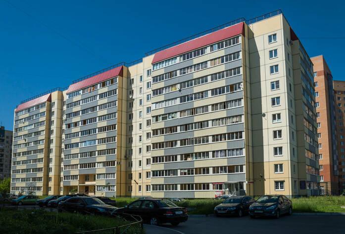 ЖК «в поселке Тельмана (микрорайон № 1)»: общий вид корпуса 10