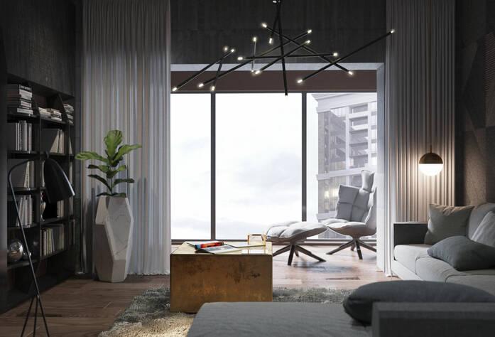 ЖК «Bau Haus» (визуализация, дизайн квартир)