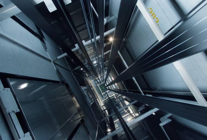 ЖК «Bau Haus» (визуализация, лифтовая шахта)