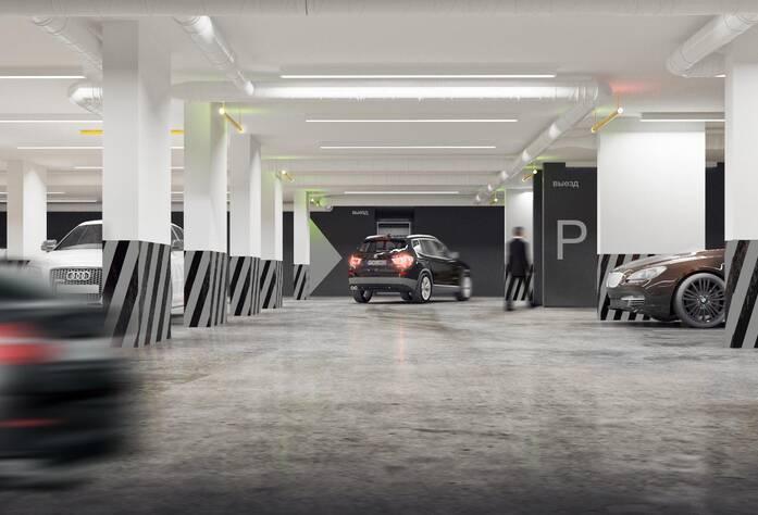 ЖК «Bau Haus» (визуализация, паркинг)