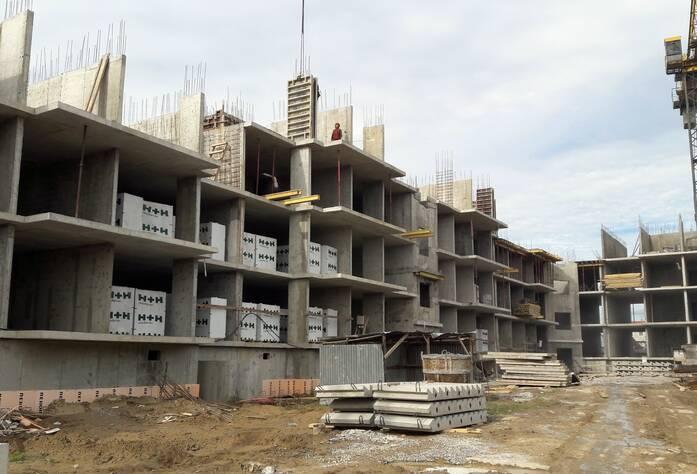Малоэтажный ЖК «Дом с фонтаном»: ход строительства