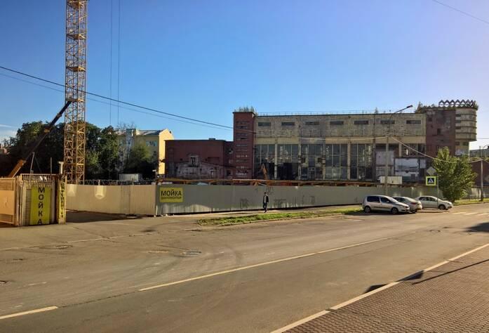 Место строительства ЖК «Мендельсон»