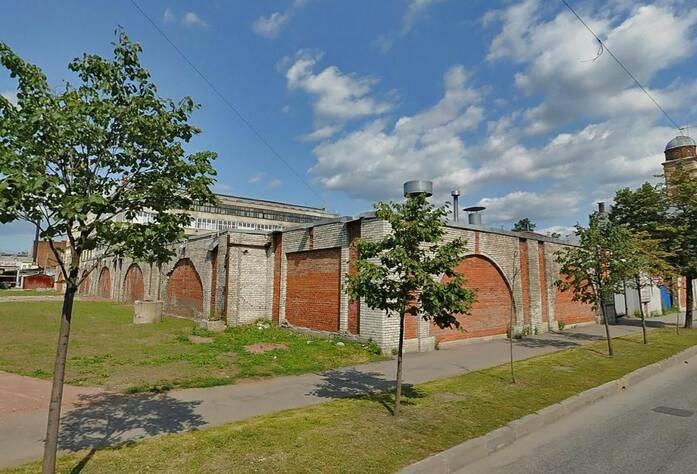 ЖК на Прилукской улице (строительный участок до начала возведения дома)