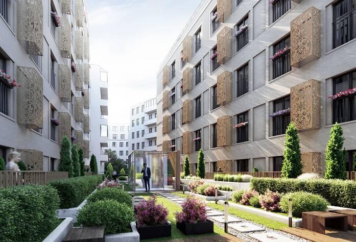 Жилой комплекс «Veren Place»: визуализация