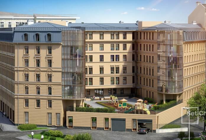ЖК «Дом у Ратуши»: внутренний двор (визуализация)