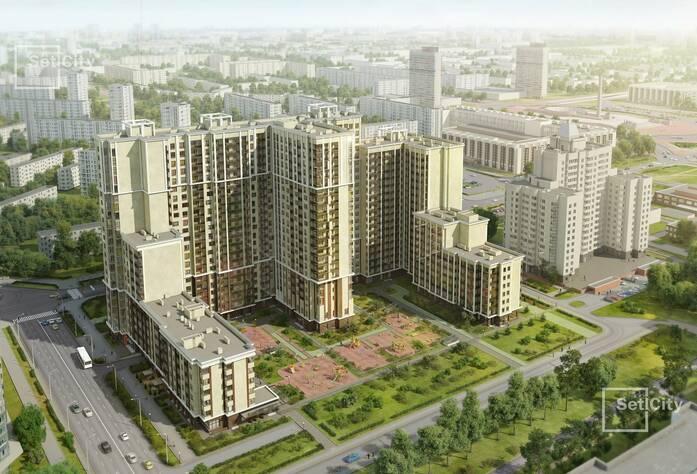 МФК «Москва»: площадь Победы, вид сверху (визуализация)
