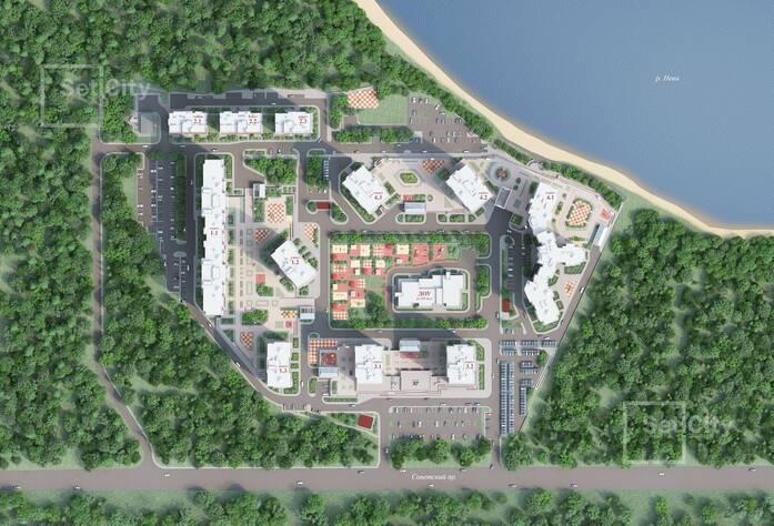 ЖК «Невские паруса»: визуализация