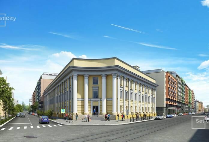 ЖК «Палацио»: здание сталилитейного завода (визуализация)