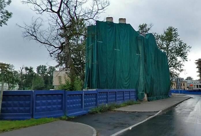 ЖК Esper Club: здание на участке до строительства комплекса