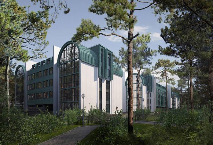 МФК «Сестрорецкий курорт»: визуализация