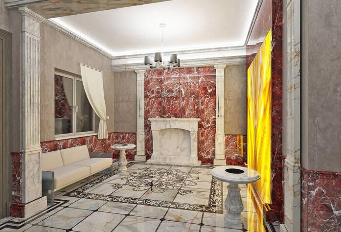 ЖК «Шереметьевский Дворец»: дизайн холлов и коридоров
