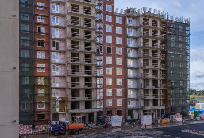 ЖК «Солнечный город»: ход строительства корпуса 5