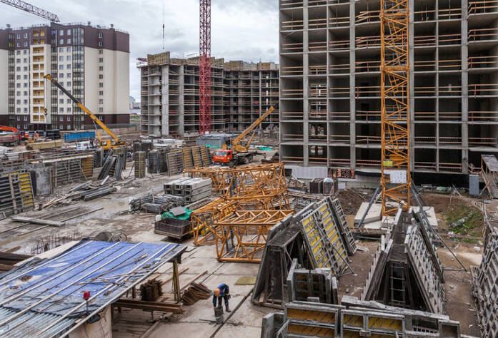 ЖК «Солнечный город»: ход строительства корпуса 6