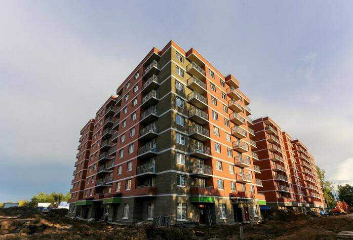 ЖК «Новое Колпино»: ход строительства, сентябрь 2017