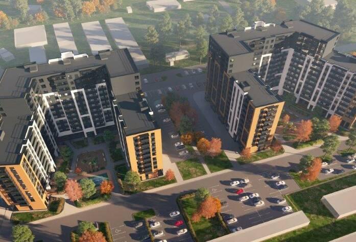 Квартал «Эпсилон» ЖК «Новоселье: Городские кварталы»: визуализация