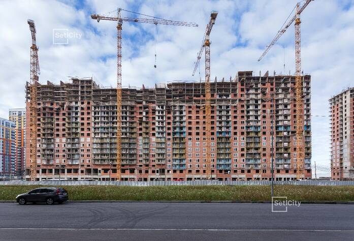 ЖК «Чистое небо»: ход строительства дома №5.1