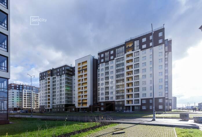 ЖК «Солнечный город»: ход строительства корпуса 1