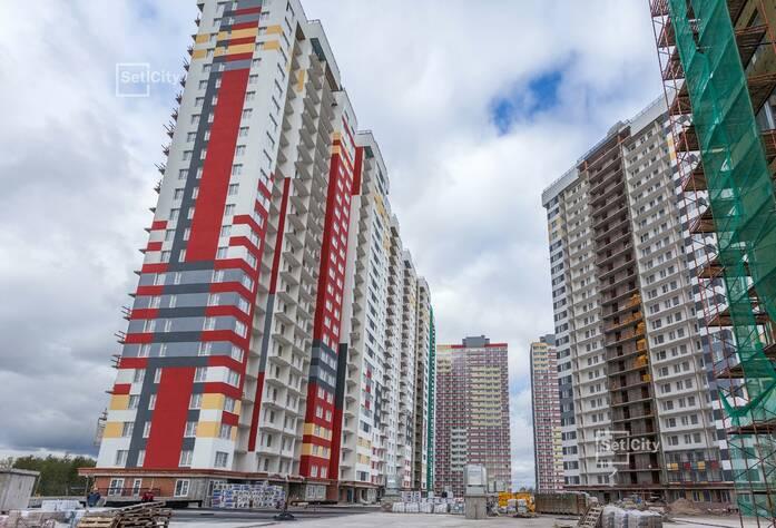 ЖК «Невские Паруса»: ход строительства дома №1