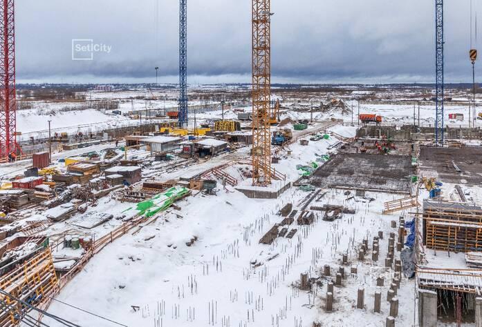 ЖК «GreenЛандия 2»: ход строительства дома №2.10