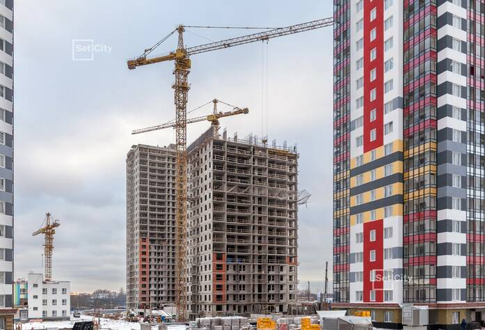 ЖК «Невские Паруса»: ход строительства дома №3
