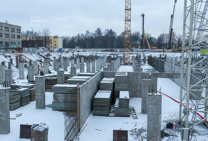 ЖК «Петровский Квартал на воде»: ход строительства корпуса №2