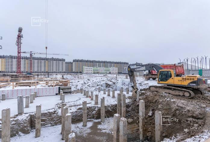 ЖК «Солнечный город»: ход строительства корпуса №7