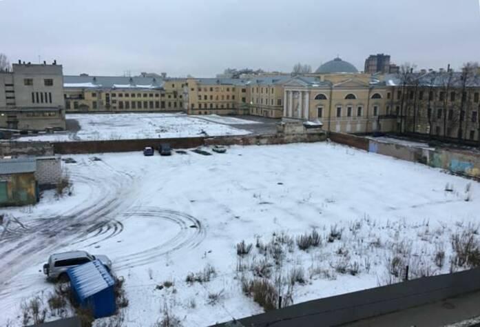 ЖК «Болконский»: площадка до начала строительства