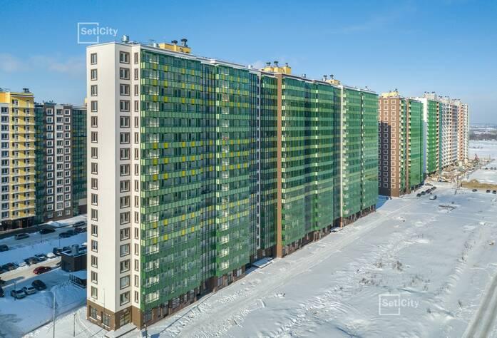 ЖК «GreenЛандия 2»: ход строительства дома №2.4