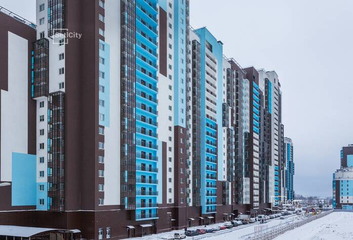 ЖК «Чистое небо»: ход строительства корпуса №2.1