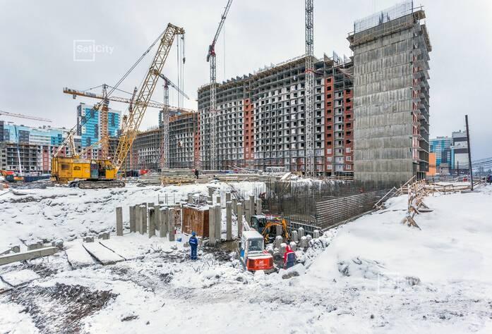 ЖК «Чистое небо»: ход строительства корпуса №4.1