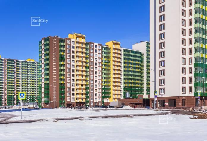 ЖК «GreenЛандия 2»: ход строительства корпуса №2.1