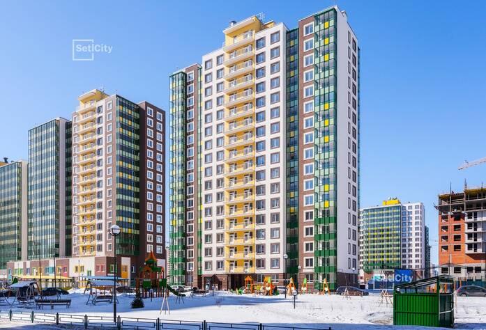 ЖК «GreenЛандия 2»: ход строительства корпуса №2.2